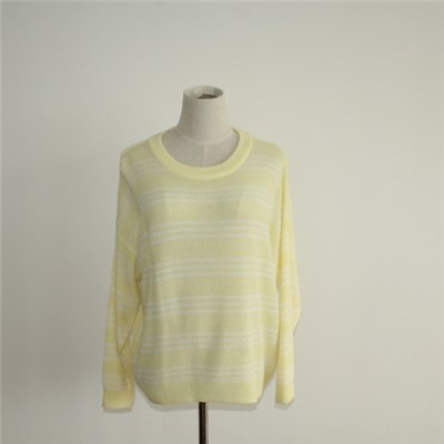 New Fashion Crew Neck Pullover Sweater Design For Girls