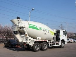 Shacman D\'long F3000 Concrete Mixer Truck
