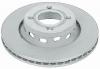 Toyota Camry geomet ventilated brake rotor with hub