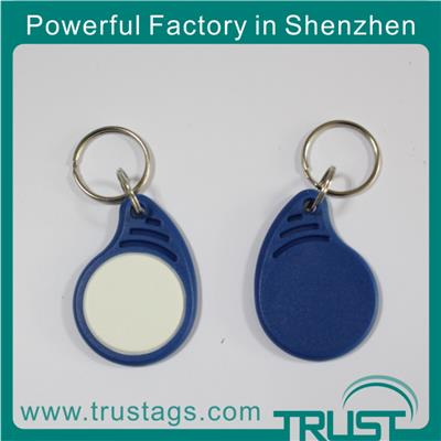 High Quality Waterproof RFID Keyfob For Access Control 125khz 13.56mhz Rfid Key Fob