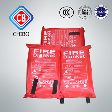 High Silica Fiberglass CE Approved fire blanket