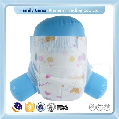 Wood Pulp Material Transparent Package Baby Diaper
