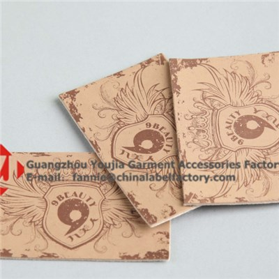 Jeans Leather Cutting Leather Labels
