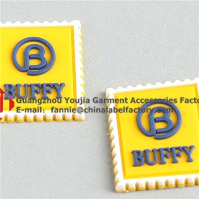 Brand Logo Silicone Patch