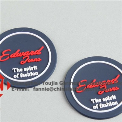 Logo Customized PVC Rubber Label