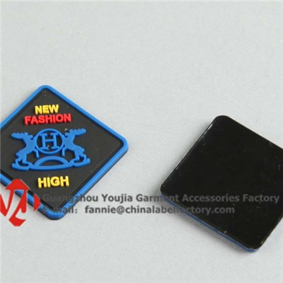 Top Grade Silicon PVC Label For Clothing