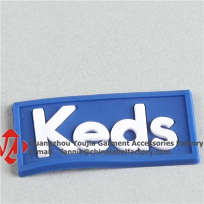 3D Logo Silicone Labels