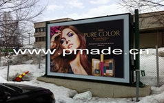outdoor advertising LED light box