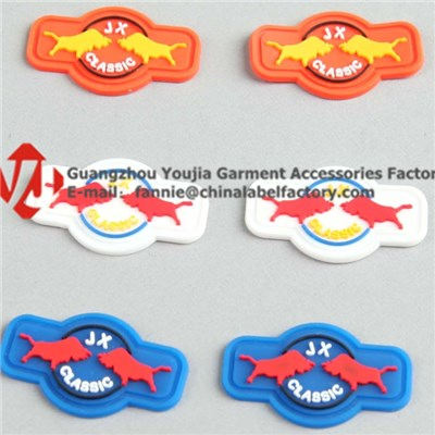 Soft Rubber/PVC/Silicone Labels