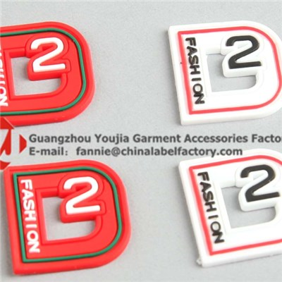 3D PVC Rubber Label