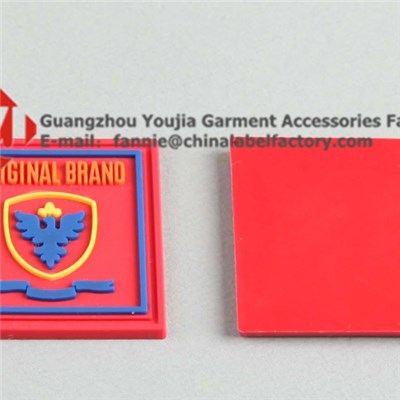 Design Brand Garment PVC Label