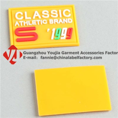 Washable Eco-Friendly Silicone Label