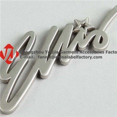 Wholesale Alphabet Metal Label