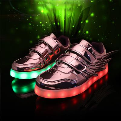Factory Direct Deal Colorful Light Up Shoes 2016 Hot Selling Sports Sneakers For Boys&girls Kids LED Sneakers