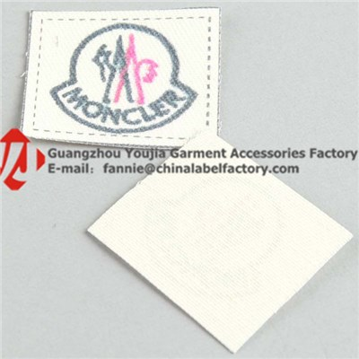 Woven Logo Label Tag
