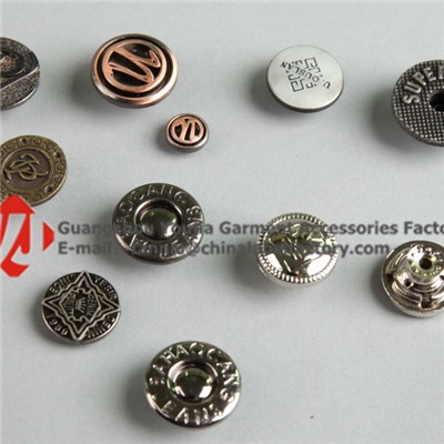 Good Quality Metal Buttons