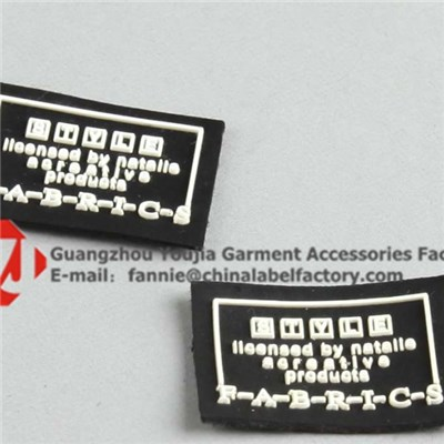 Private Brand PVC Logo PU Label