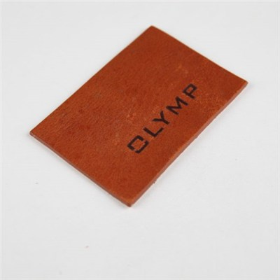 No MOQ Jeans Embossed Logo Leather Label