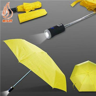 Custom Logo LED Torch Umbrella For Promotion