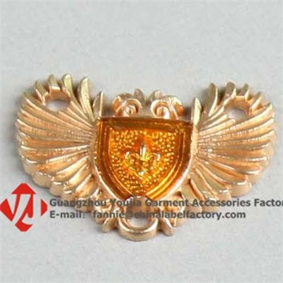 Wing Metal Label High Quality