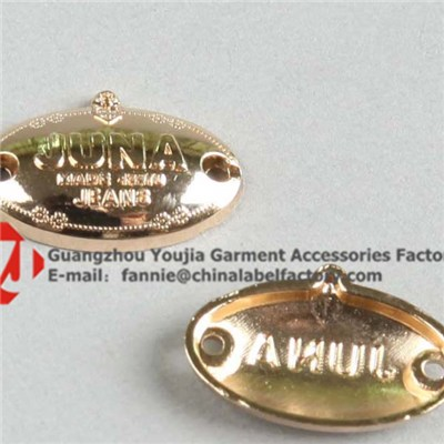 Cheap China Custom Metal Label