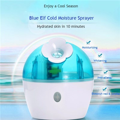 High Quality Ultrasonic Nano Ionic Mist Spray Facial Moisturizer Facial Sauna Steamer Deep Hydrating Acne