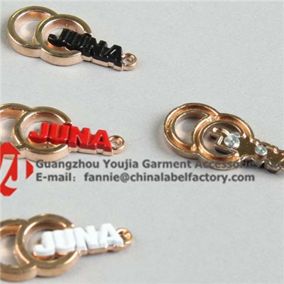 Different Colors Of Brand Name Metal Logo