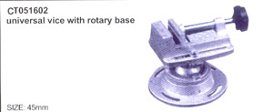 Universal vice with rorary base