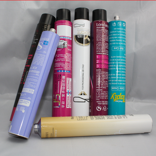 Professional Hair Color Dye Aluminum Packaging Tube