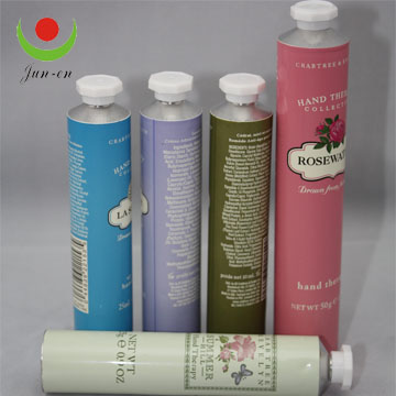 Cosmetic laninated tube aluminum plastic colorful tube