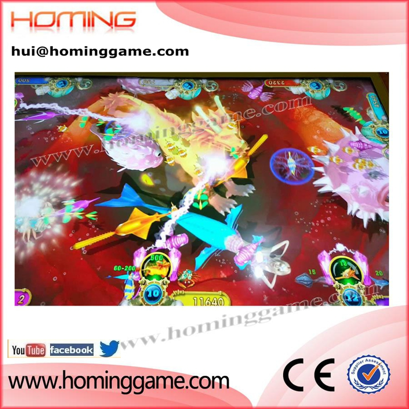 Fire Kylin arcade fishing hunter shooting fishes game machine Plus