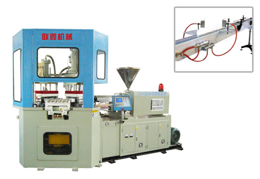 injection blow hollow molding machine