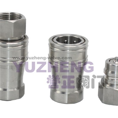 Hydraulic Quick Action Couplings - Type Kzf