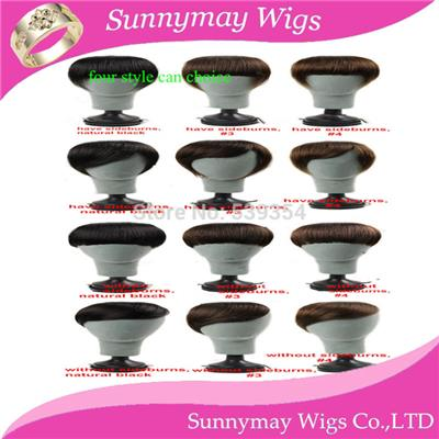 Free Shipping Sunnymay Cheap Stock 4 Styles Can Choice Straight 100% Brazilian Human Virgin Hair Extension Clip In Bangs Fringe