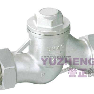 H11W Lift Type Screwed Check Valve