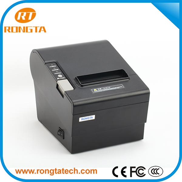 80mm Wifi lan thermal Receipt Printer wifi printer with 250mm/s high speed printing/auto cutter