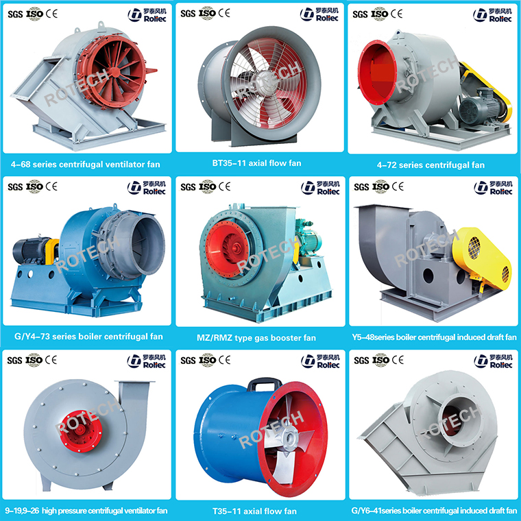 4-72 type centrifugal fan