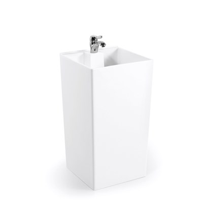 Engineer Project Acrylic Stone Solid Surface Wash Basin BPB006
