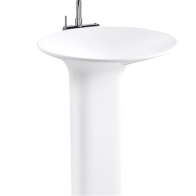 Solid Surface Wash Basin Free Standing Model BPB004