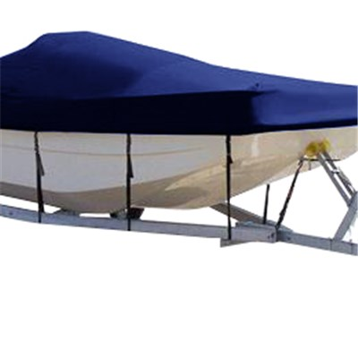 Square Bow Center Console Fishing Boat Cover