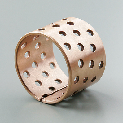 Wrapped Bronze Bushing With Through Holes TSB-092