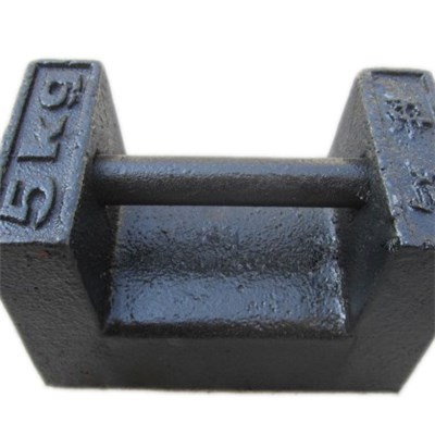 iron cast standard weight