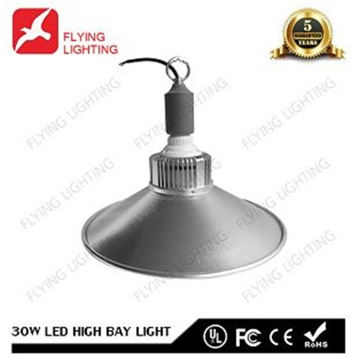 50000 Hour 30W LED High Bay Light With CE UL FCC RoHS Certificate