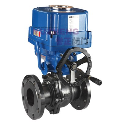 2PC WCB Flange Electric Ball Valve