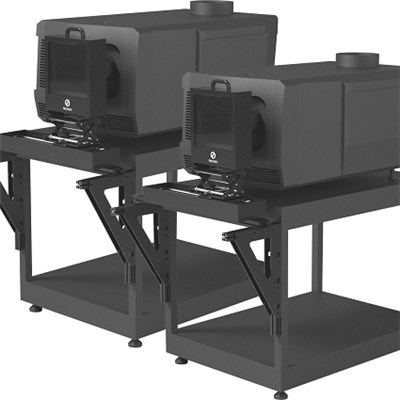 Dual Projection Triple-beam 3d System