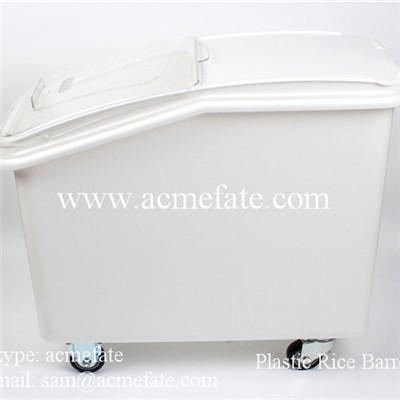 Plastic Rice Barrels