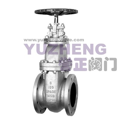 Non-rising Stem Flanged Gate Valve