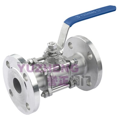 3PC Stainless Steel Flanged Ball Valve