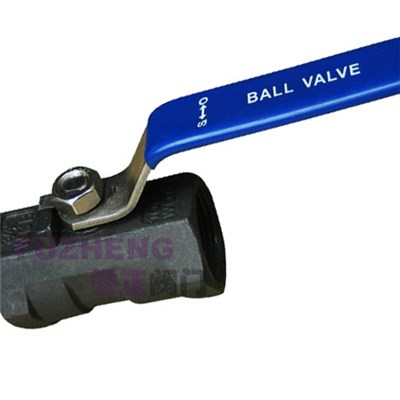 1PC Carbon Steel Ball Valve 1000WOG