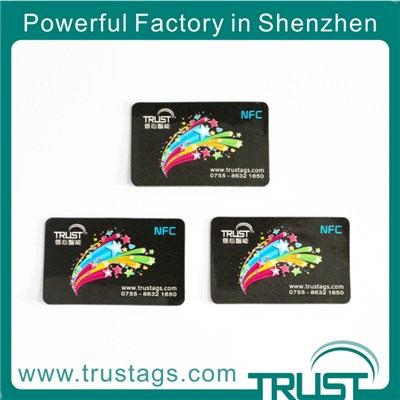 13.56mhz Iso14443a Printing Nfc Sticker